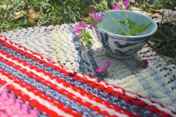 Cloth House Kantha blanket