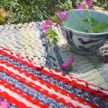 Cloth House Kantha blanket
