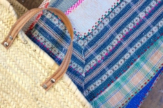 Indian Kantha blanket
