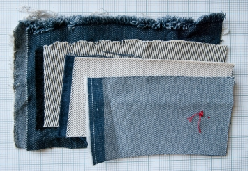 Cloth House Denim Swatches