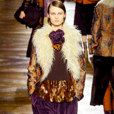 Dries Van Noten A/W 15 Image via Harpers Bazaar