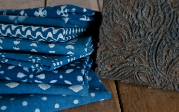 Cloth House Indian Printing Block