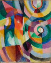 Sonia Delaunay - Electric prisms 1913