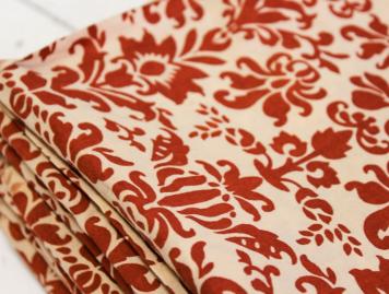Cloth House Damask Printed Fabric