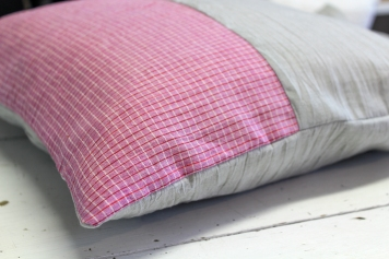 Cloth House Pocket Square and Ash Indian Cotton